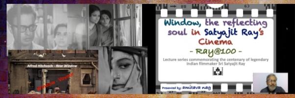 Ray@100 Lecture 4: The Window in Satyajit Ray's Cinema