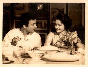 Uttam Kumar and Asha Parekh