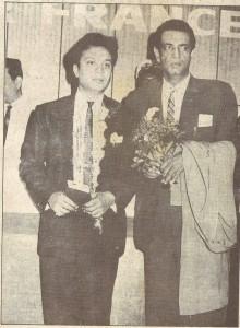 Uttam Kumar and Satyajit Ray