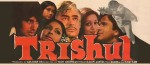Six Sheeter Poster of the multi-starrer Trishul