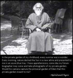 Rabindranath Tagore on cinema