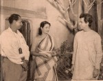 Bimal Roy directing Suchitra Sen and Dilip Kumar for Devdas (Pic: From the collections of SMM Ausaja)