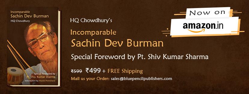 Incomparable Sachin Dev Burman (SD Burman) Book