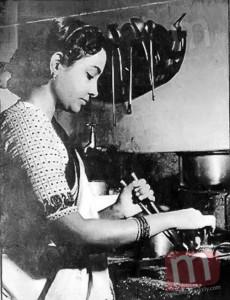 Geeta Dutt At Home