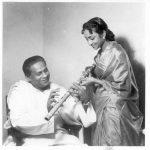 Geeta Dutt with Pandit Pannalal Ghosh