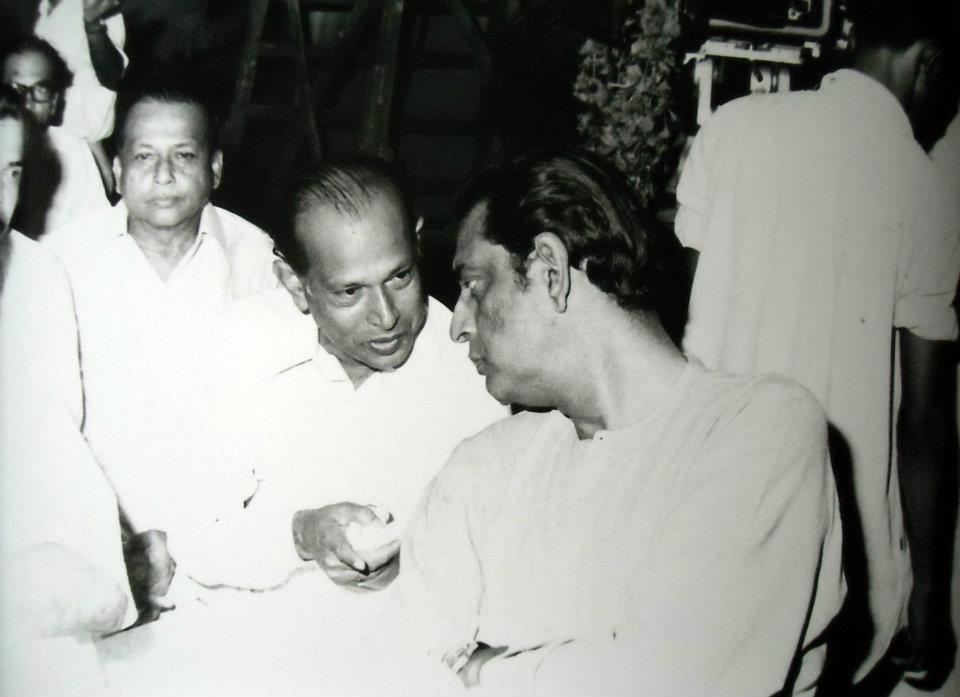 Tapan Sinha and Satyajit Ray