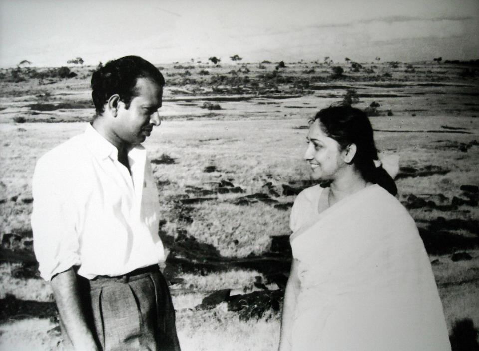 Tapan Sinha and Arundhati Devi