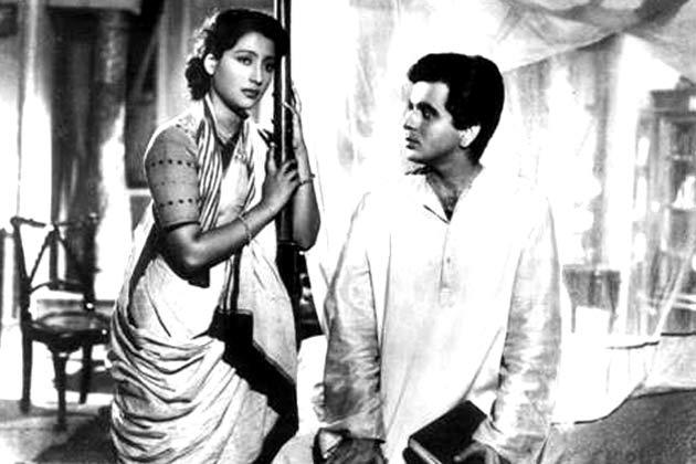 Suchitra Sen and Dilip Kumar in Devdas