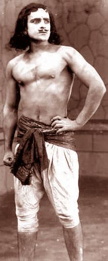 Prithviraj Kapoor In a silent film 1929
