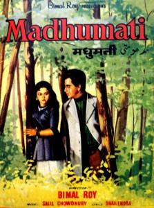 Madhumati (1958) poster