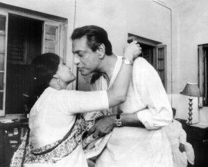 Ruma Guha Thakurta and Satyajit Ray