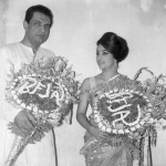 Satyajit Ray and Suchitra Sen at BFJA