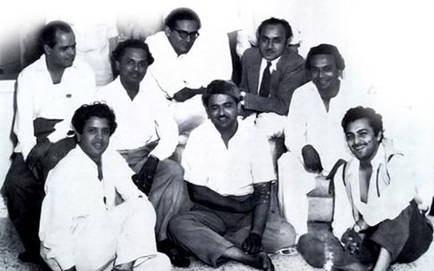 Roshan, Anil Biswas, Hemant Humar, Mohd. Shafi, Naushad, Jaikishan, C. Ramchandra and Madan Mohan