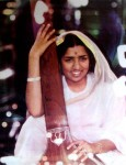 Lata Mangeshkar, the Melody Queen (Pic courtesy: SMM Ausaja)