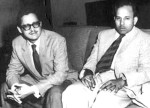 Guru Dutt and Abrar Alvi