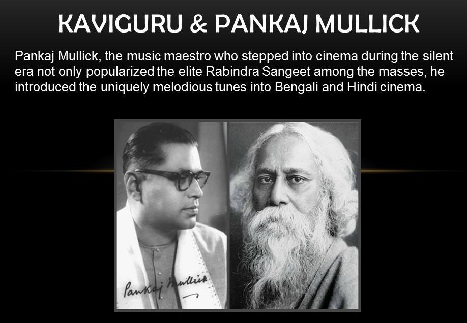 Pankaj Mullick and Rabindranath Tagore