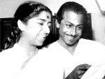 Lata Mangeshkar and Salil Chowdhury (Poc