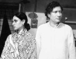 Vijay Anand and Jaya Bhaduri in Kora Kagaz