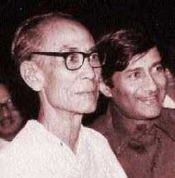 SD Burman and Dev Anand (Pic: sdburman.net)