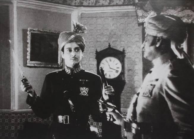 In Jhinder Bandi as the rakish villain Mayurbahan