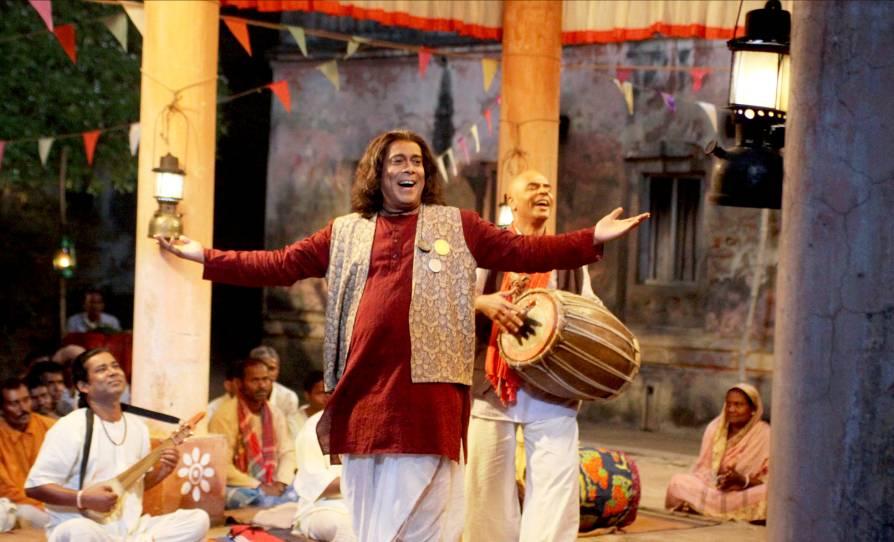 Debshankar Haldar as Jhanksu Ustad in Maya Mridanga