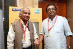 PK Nair with Shivendra Singh Dungarpur FHF