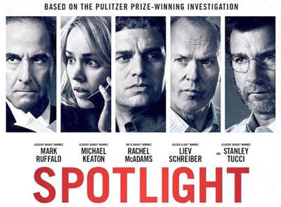 The poster of Spotlight
