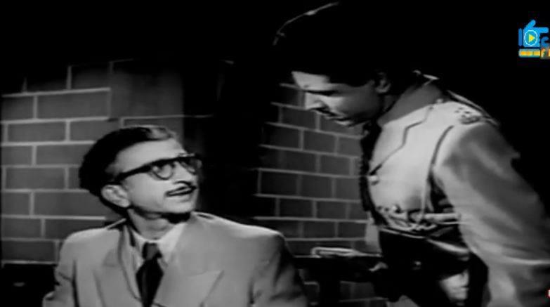 Raj Khosla and Krishna Dhawan in Baazi