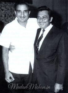 Raj Khosla and Madan Mohan