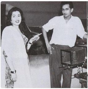 Madhubala and cameraman Jal Mistry