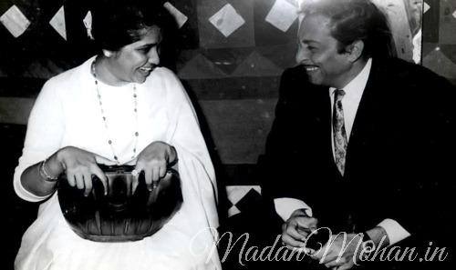 Asha Bhosle and Madan Mohan