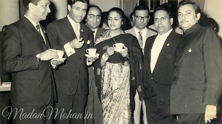 Dev Anand Moti Lal, Shankar and Madan Mohan