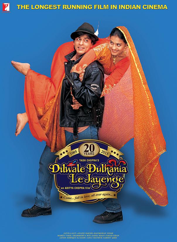 Dilwale Dulhania Le Jayenge (Pic: Yashraj Films)