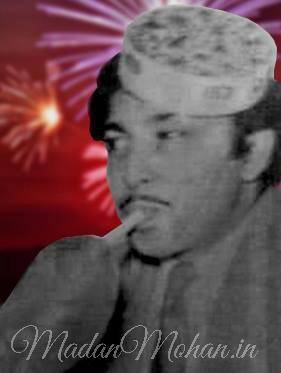 Madan Mohan in a mast mood (25 June 1924 - 14 July 1975)