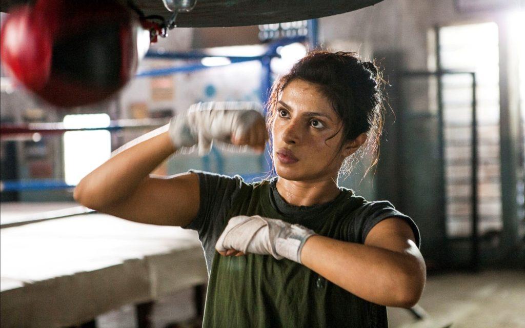 Priyanka Chopra as Mary Kom (Pic: Mary Kom movie still)
