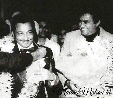 Sanjeev Kumar and Madan Mohan