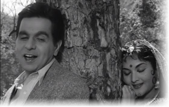 Dilip Kumar and Vyjayanthimala