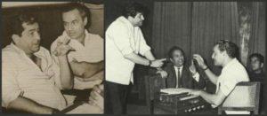 Mukesh and Raj Kapoor