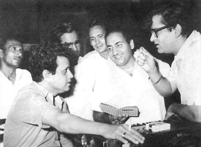 Jaikishan, Mohd Rafi and Shammi Kapoor