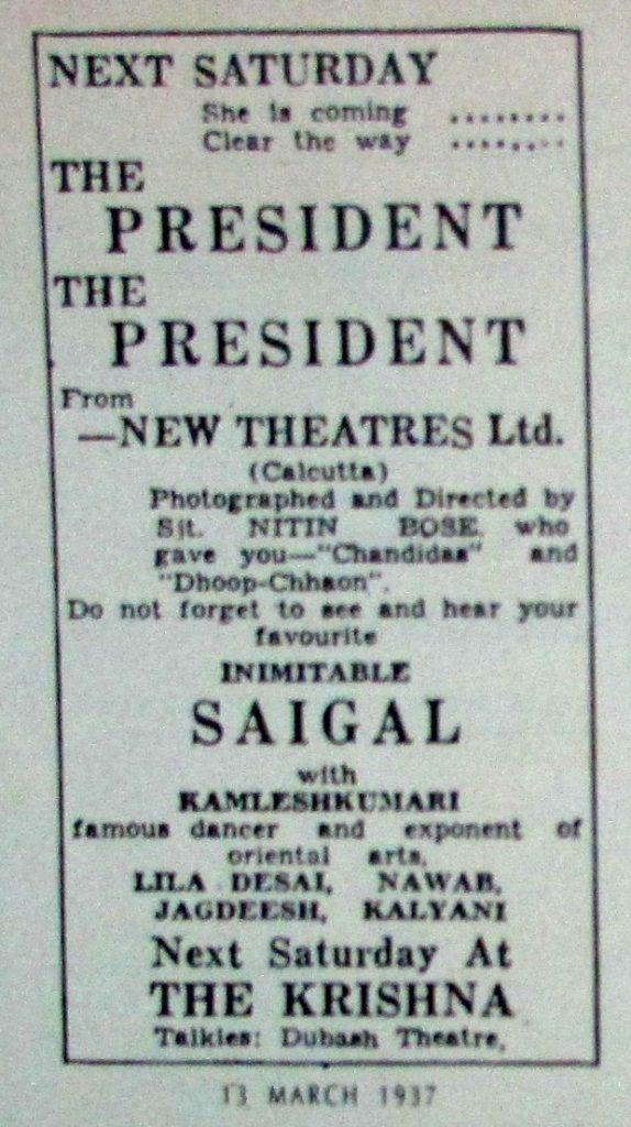 president 1937