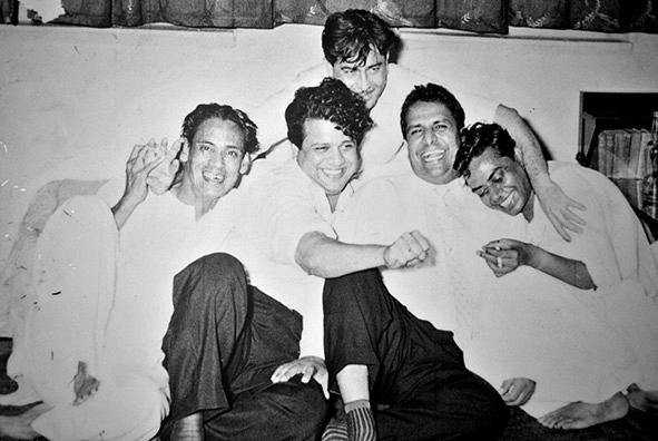 SJ, Raj Kapoor, Hasrat, Shailendra