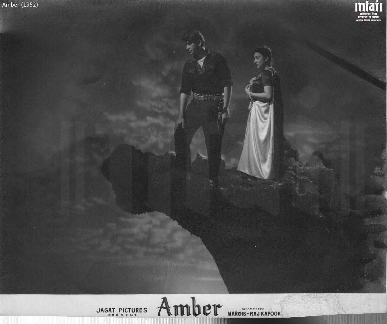 Amber 1952 Nargis Raj Kapoor