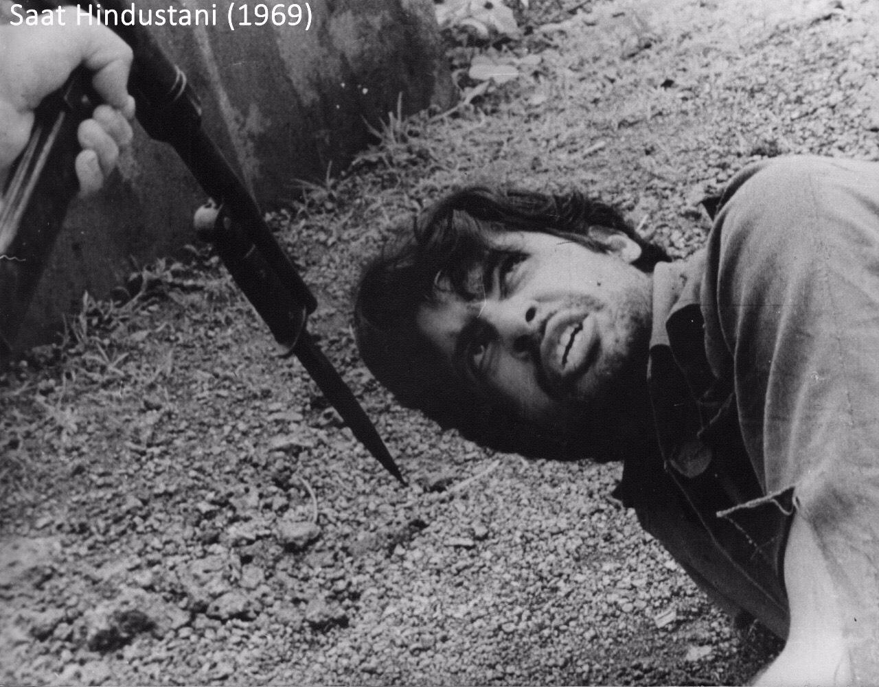 Saat Hindustani Amitabh Bachchan