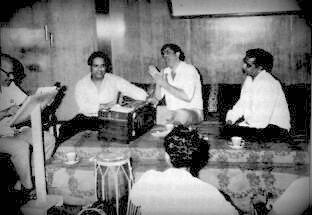Sebastian,Shankar, Raj Kapoor and Shailendra