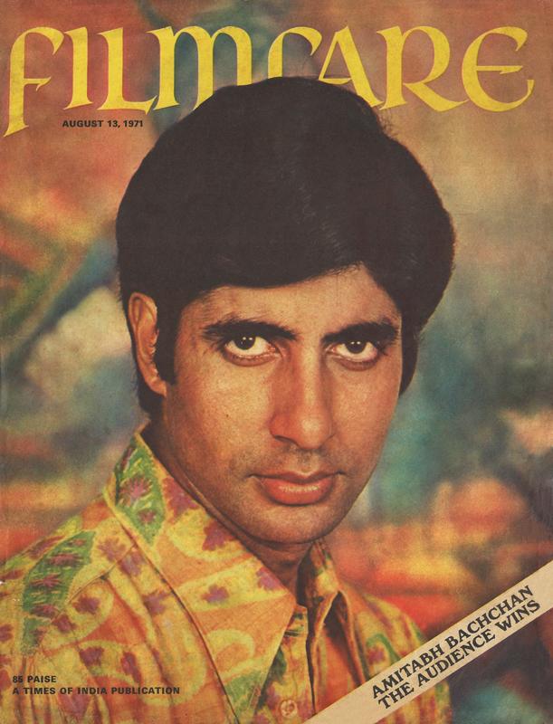 Filmfare cover of Amitabh Bachchan