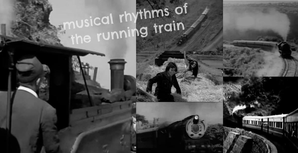 musical rhythms of the running train