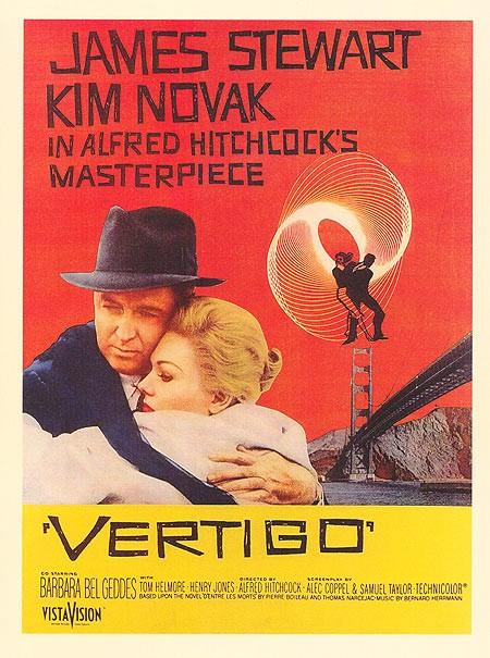 Alfred Hitchcock's Vertigo (1958)