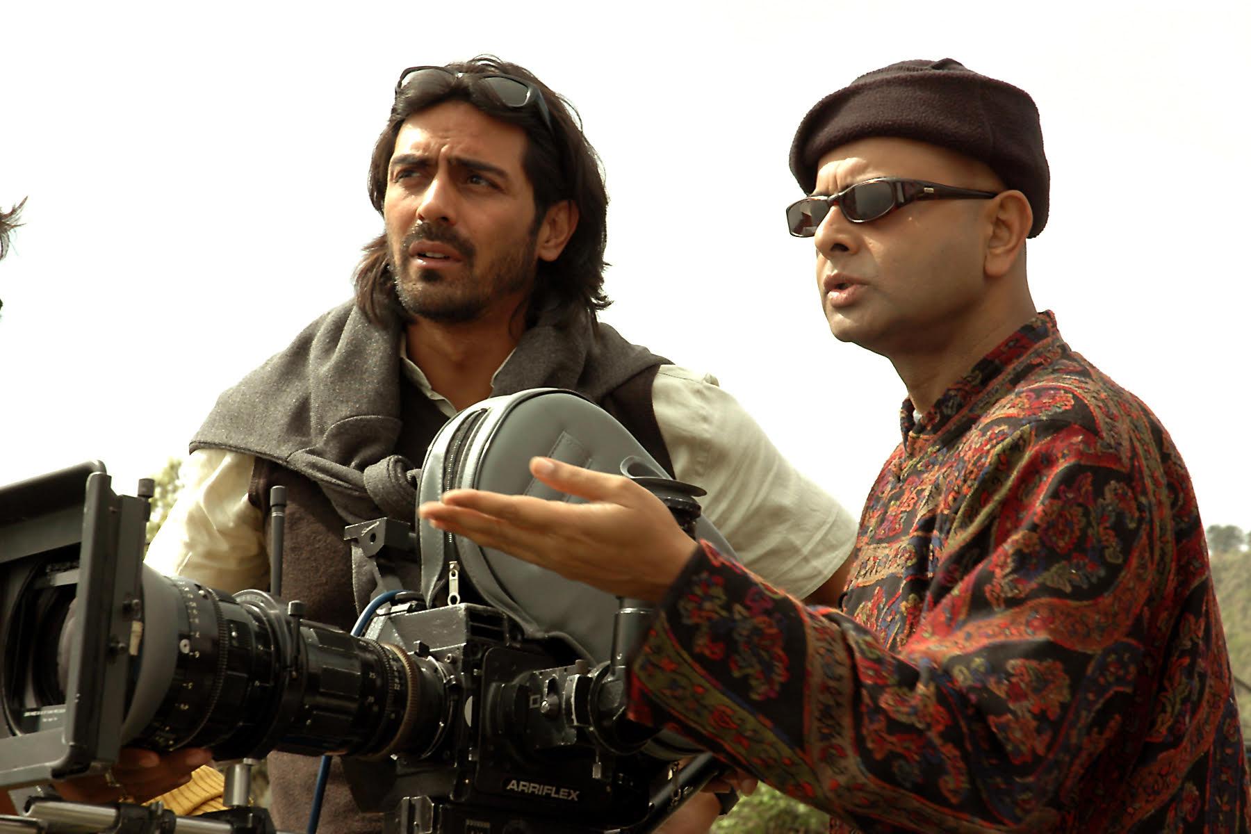 Arjun Rampal and Rituparno Ghosh
