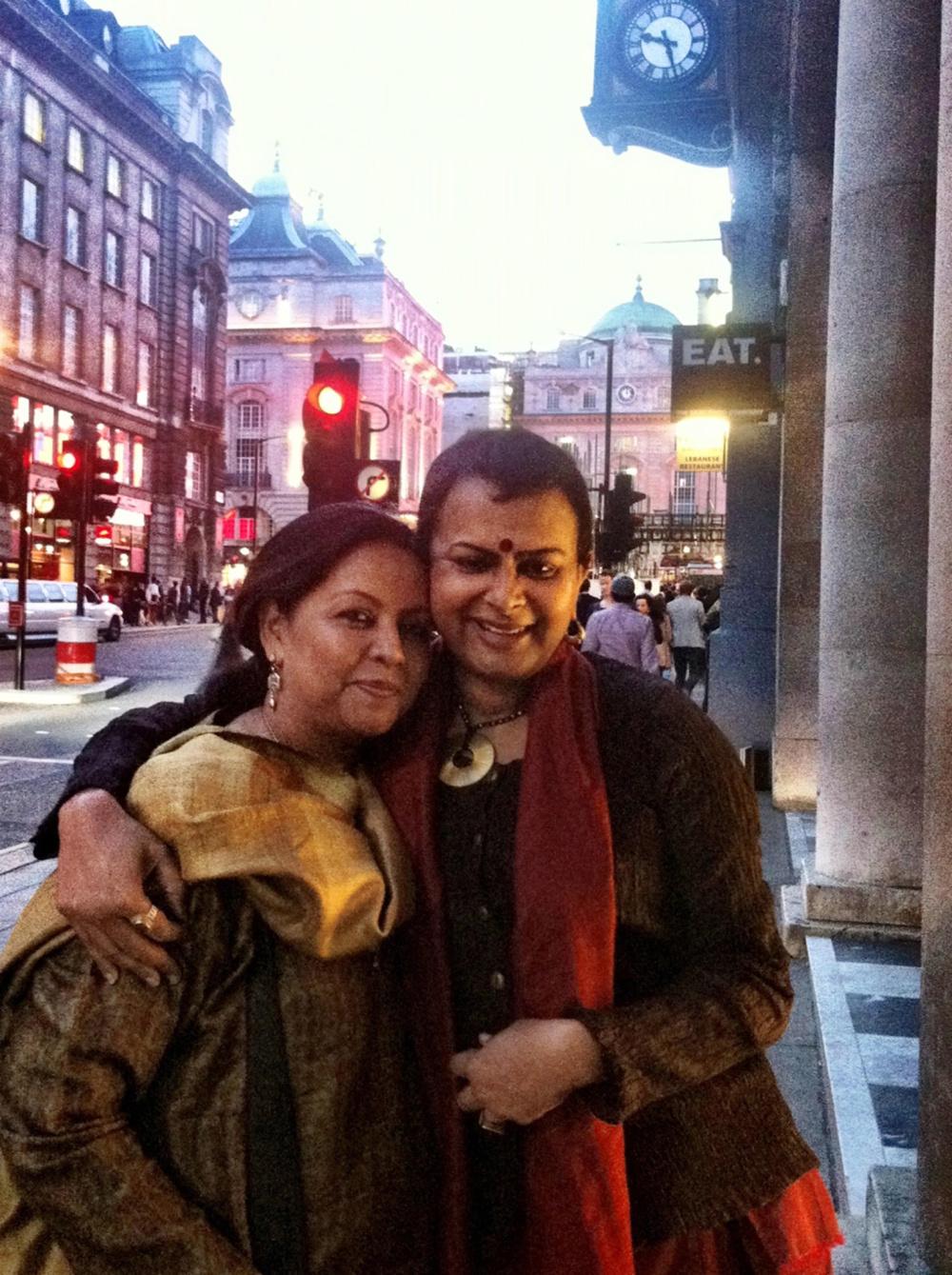 Sangeeta Datta and Rituparno Ghosh