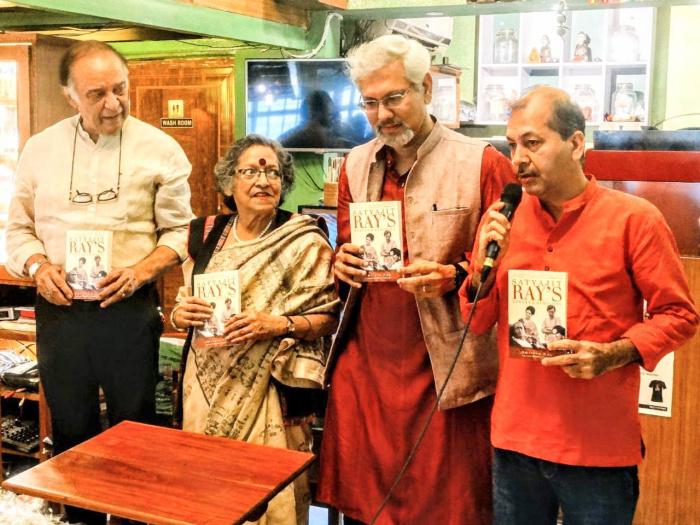 Barun Chanda, Shoma Chatterji, Amitava Nag and Raju Barman